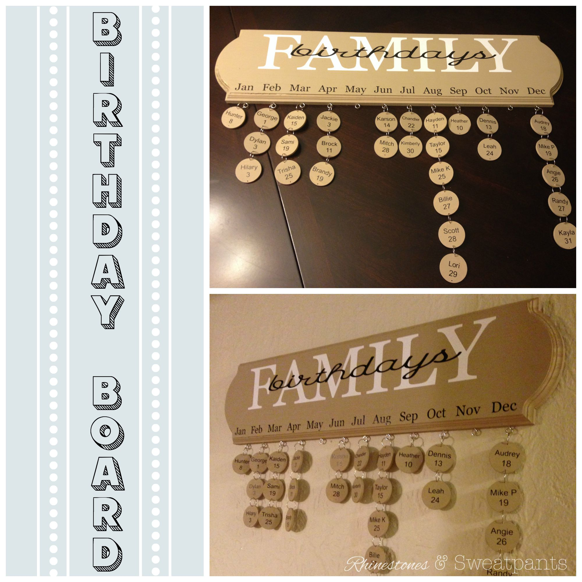 how to make a birthday board